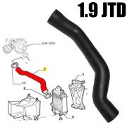 ALFA ROMEO 147 156 159 1.9 JTD LOWER INTERCOOLER TURBO ENGINE HOSE PIPE 50516355
